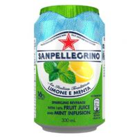 Sanpellegrino Cans Lemon and Mint 24 x 330ml